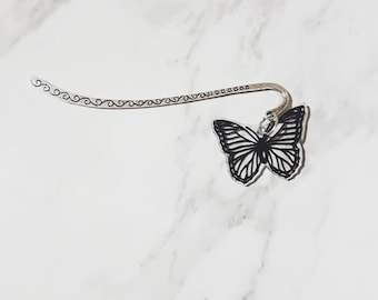 Butterfly Silver Bookmark