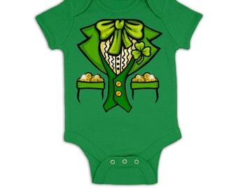 Leprechaun Costume baby grow