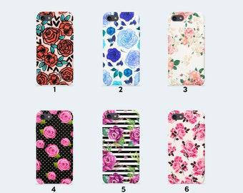 Roses Phone case for iPhone X iPhone 8 Plus 7 Plus iPhone 6 6S Plus iPhone 5 5S SE Samsung Galaxy S7 Edge S8 Plus