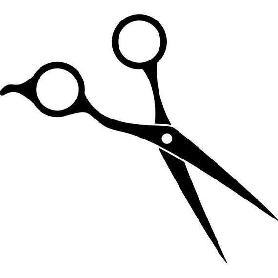 scissors hair accessories barber stylish barbershop fashion rh etsy com scissors vector ai scissors vector free ai