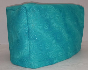 Teal Sparkle Toaster Cover