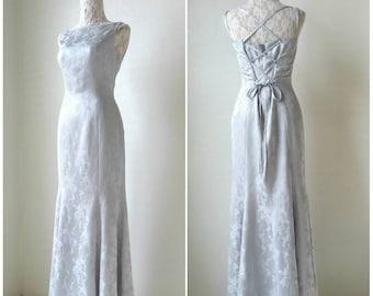 Sale!!! 90s GenetVivien party dress size 9 medium / vintage party dress / 90s formal dress / 90s bridesmaid dress