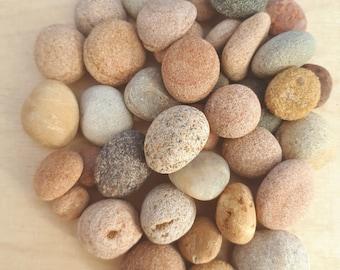 Beautiful Small Sea Beach Stones Rock Round Shaped 0,5kg