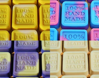 BULK x 100 Handmade Soaps - Choose up to four different scents
