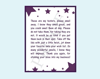 Scentsy etsy authorized scentsy vendor scentsy testers notice poem scentsy card flyer 425 x 55 accmission Choice Image