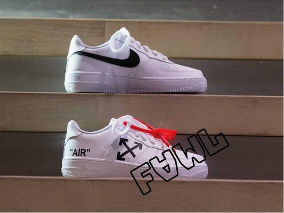 nike air force 1 white custom