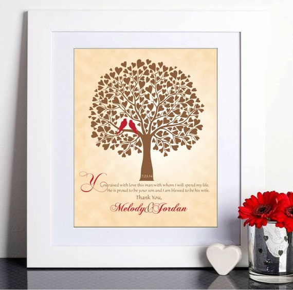 Wedding Gifts For Mother In Law: Wedding Gift For Mother In-Law Thank You Gift Mother Of