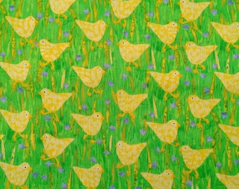Easter Chicks Fabric