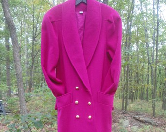 UNUSED Wool Classic Coat Size 8