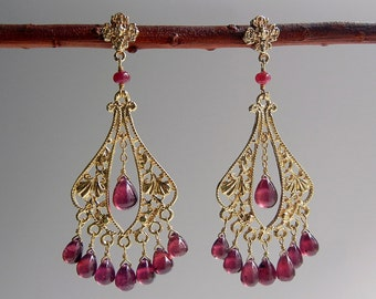 Ruby Indira Earrings