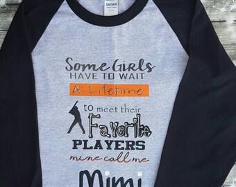 Baseball Grandma Baseball Mimi Baseball Nana shirt