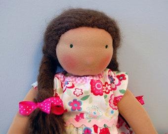 Waldorf Doll Organic Rosemary Garden Dolls 16-inch Waldorf Doll **Maria**