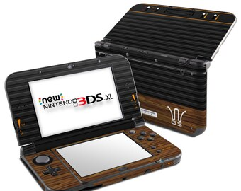 Nintendo 3DS XL Skin - Wooden Gaming System - Sticker Decal Wrap - New 3DS XL - Original 3DS XL