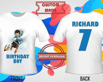 Miles From Tomorrowland Shirt Iron On Transfer, Miles From Tomorrowland Birthday Shirt Iron On Transfer, Miles, Front Back Design