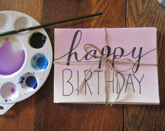 Handmade Watercolor Greeting Cards