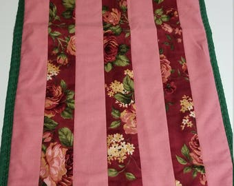 Table runner, table topper, home decor, floral table runner