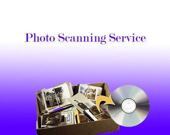 Hard Copy Photo Scanning Service - Turn Your Photos into Digital Photos That Will Last Forever! Very Quick and Easy TurnAround!
