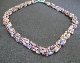 Lavender Twist Necklace