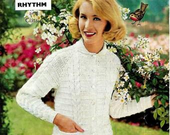ROBIN 1000 Vintage Ladies Knitting Pattern Instant Download