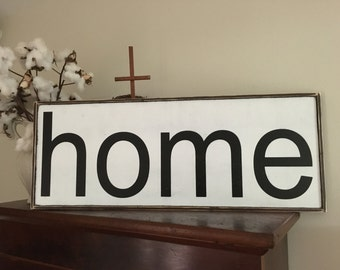 Home sign,Fixer Upper Inspired Signs,32.5x12.5, Rustic Wood Signs, Farmhouse Signs, Wall Décor