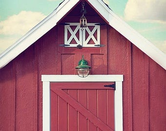 Rustic Wall Decor, Red Barn Photos, Farmhouse Wall Art, Kitchen Wall Decor, Farmhouse Nursery Art, Barn Photography, Rustic Wall Art