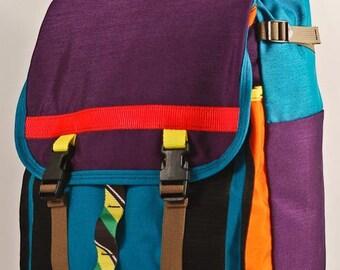 S A L E // Mini Adventure Pack -- purple, orange, blue -- ready to ship.