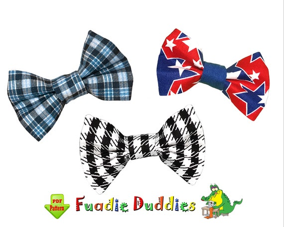 Fine Bow Tie Pattern Sewing Crest - Easy Scarf Knitting Patterns ...