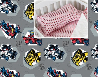 Transformers Pillow Case Cotton Pillow Case Robots Toddler Bedding Sham 100% Cotton Pillow Case