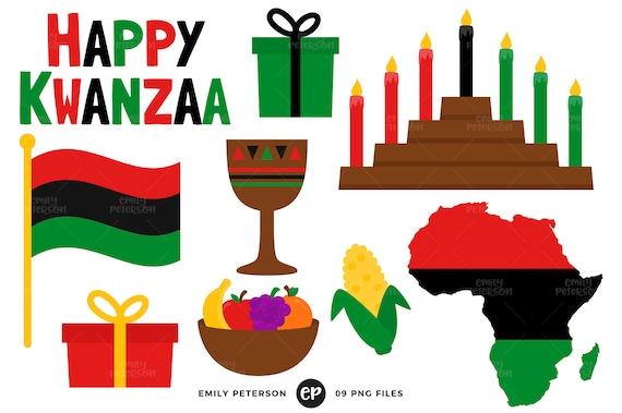 kwanzaa clip art african american clipart kinara clip art rh etsystudio com kwanzaa candles clipart happy kwanzaa clipart