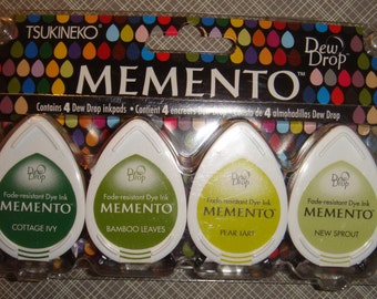 Memento Dew Drop- 4 pack- Greenhouse
