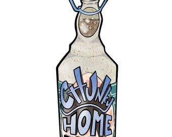 Chunky Home Brew Sticker large