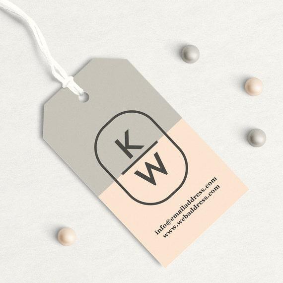 Super Custom Hang Tags, Custom Clothing Labels, Custom Business Card tag  PD35