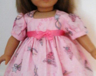 """Party dress for AG or any 18"""" doll"""