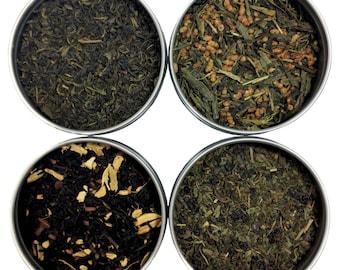 Heavenly Tea Leaves World Tea Sampler, 4 Count