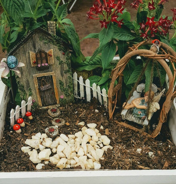 Ladybug Fairy Garden Kit - (Plants and Soil not included)