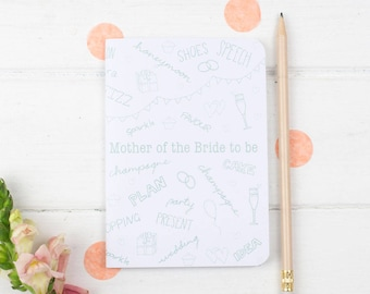 Mother of the Bride Notebook – Mother Of The Bride Gift – Wedding Planning Notebook – Wedding Planner – Mother Of Bride Gift