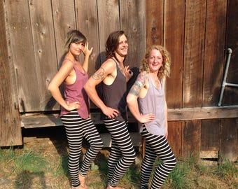 Stripy Leggings
