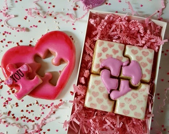 You Complete Me Valentine's Day Cookie Gift Box