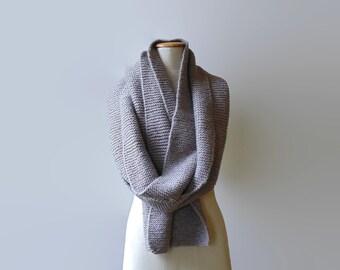 Gray Wool Shawl Scarf, Cute Long Winter Scarf, Huge Mens Scarf, Womens Scarves, Wide Extra Long Scarf, Wrap Scarf, Blanket Scarf, branda