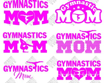 Gymnastic svg - Gymnastic mom svg - Gymnastic mom digital clipart for Print, Design or more, files download svg, png, dxf