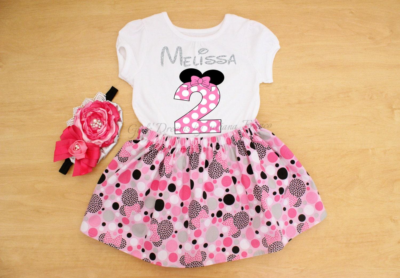 Minnie Mouse Shirt, Minnie Mouse Birthday Shirt, Minnie Personalised Shirt, Pink Minnie, Red Minnie Shirt, Minnie Tutu, Minnie Birthday
