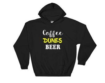 Coffee Dunes Beer Sand Dunes Hooded Sweatshirt