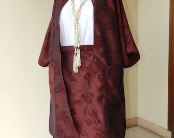 All plus size skirt kimono jacket