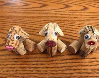 Wine Cork Dog/Dog