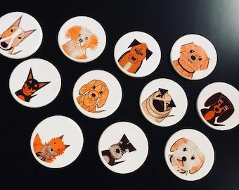 Dog Characters Coaster