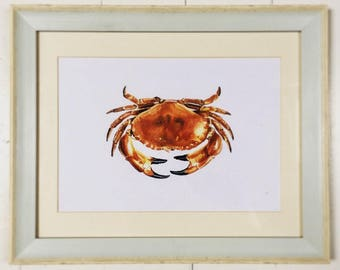 Ink CRAB Print A4 By VMS (From Original Artwork)