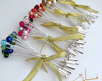 Set of hijab pins/hat pins