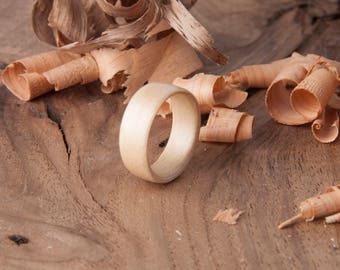 Bentwood Maple Ring- Free US shipping