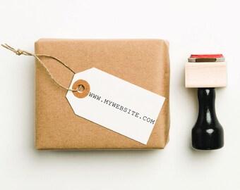 Custom Website Stamp, Custom Business Stamp, Self Inking Stamp, Personalized Business Stamp, Company Website Stamp, URL Stamp (SBIZZ114)