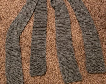 His and Hers Matching Gray Scarves